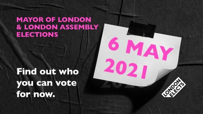 Mayor of London elections 6 May 2021