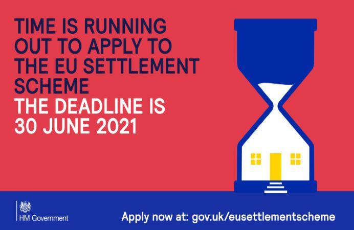 EU Settlement Scheme application deadline